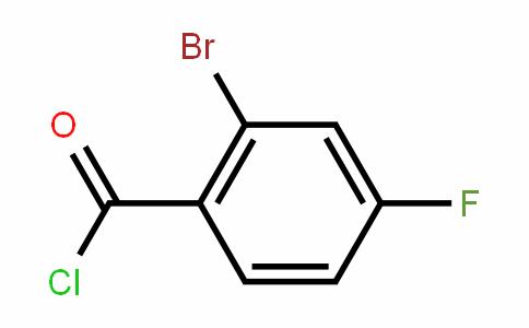 2-Bromo-4-fluorobenzoyl chloride