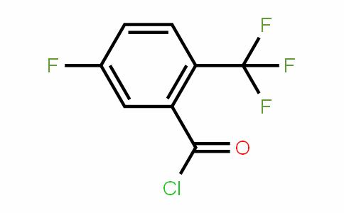 2-Trifluoromethyl-5-fluorobenzoyl chloride