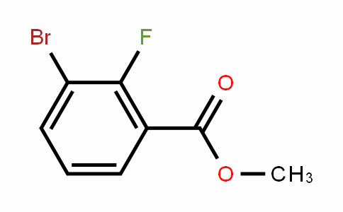 3-溴-2-氟苯甲酸甲酯