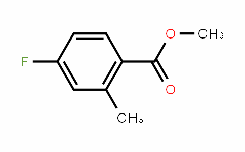 Methyl 4-fluoro-2-methylbenzoate