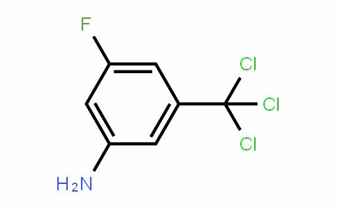 3-fluoro-5-trichloromethylaniline