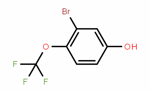 3-溴-4-(三氟甲氧基)苯醇