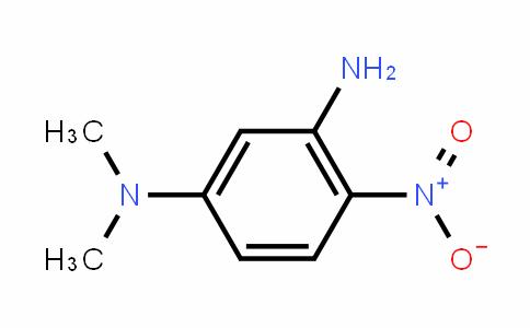 3-amino N,N-dimethyl 4-nitro aniline