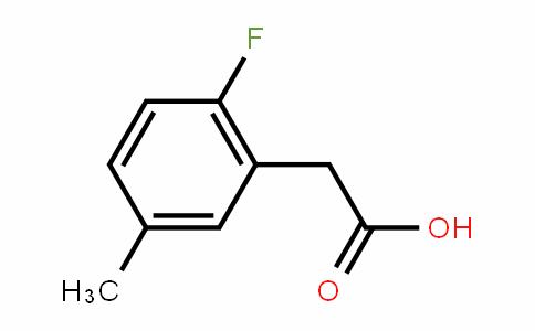 2-fluoro-5-methylphenylacetic acid