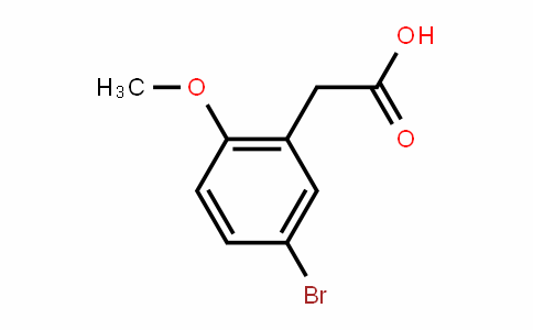 2-methoxy-5-bromophenylacetic acid