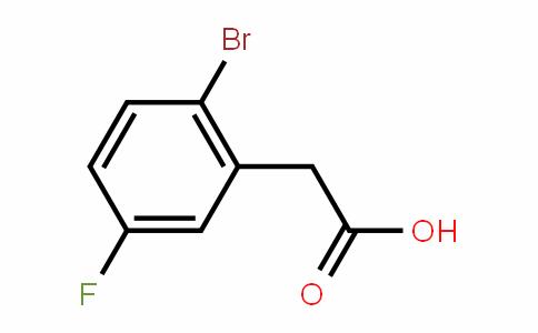2-Bromo-5-fluorophenylacetic acid