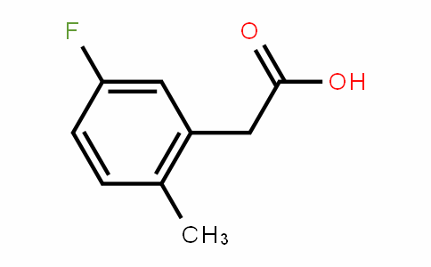 5-Fluoro-2-methylphenylacetic acid