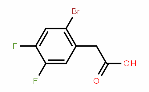 2-Bromo-4,5-difluorophenylacetic acid