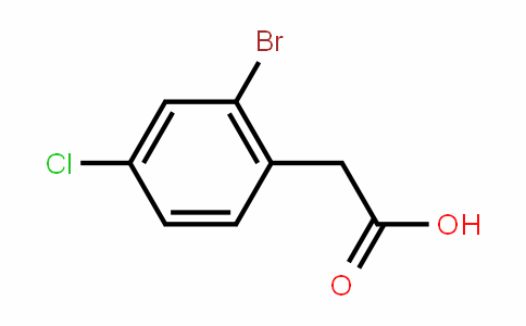 2-Bromo-4-chlorophenylacetic acid