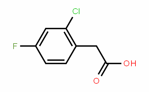 2-Chloro-4-fluorophenylacetic acid