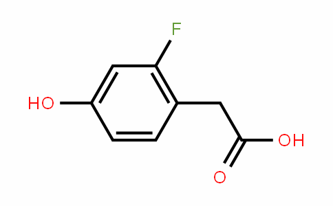 2-Fluoro-4-hydroxyphenylacetic acid