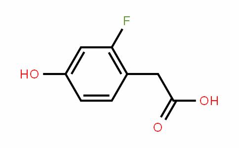 2-氟-4-羟基苯乙酸