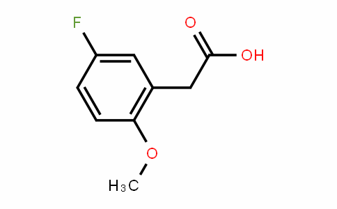 5-Fluoro-2-methoxyphenylacetic acid