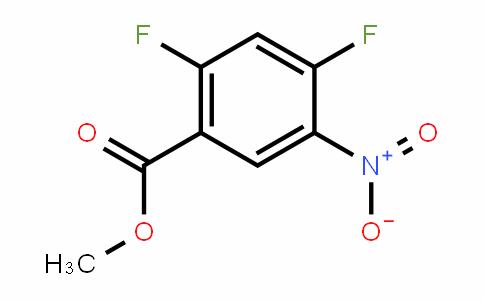 2,4-二氟-5-硝基-苯甲酸甲酯