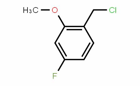 2-Methoxy-4-fluorobenzyl chloride