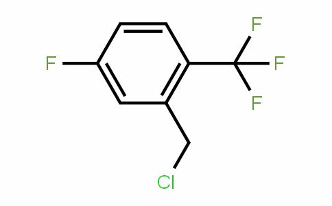 2-Trifluoromethyl-5-fluorobenzyl chloride