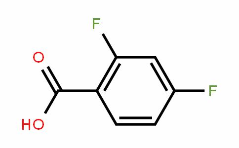 2,4-Difluorobenzoic acid
