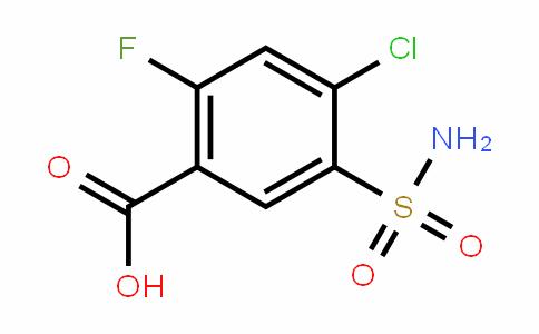 4-氯-2-氟-5-氨磺酰苯甲酸