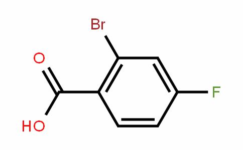 2-溴-4-氟苯甲酸