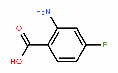 2-Amino-4-fluorobenzoic acid