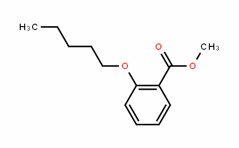 Methyl 2-n-pentyloxybenzoate