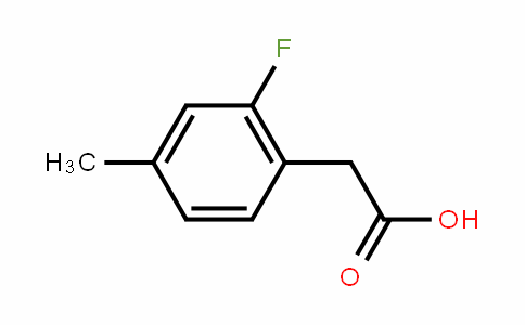 2-Fluoro-4-methylphenylacetic acid