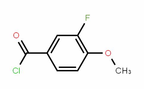 3-Fluoro-4-methoxybenzoyl chloride