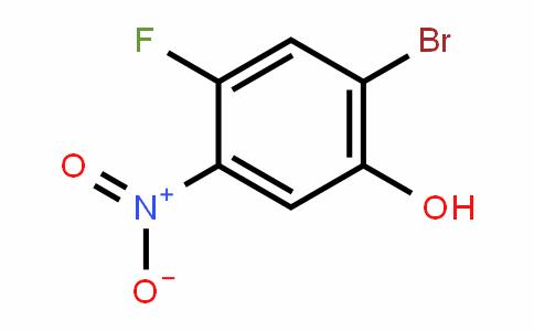 2-溴-4-氟-5-硝基苯酚