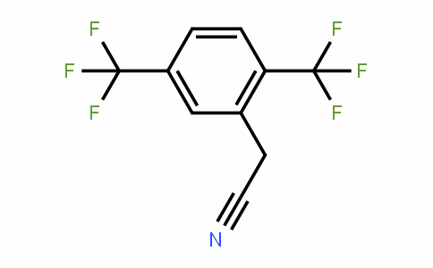 2,5-Bis(trifluoromethyl)phenylacetonitrile