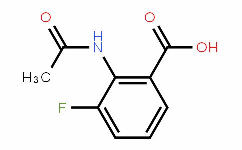 2-Acetamido-3-fluorobenzoic acid