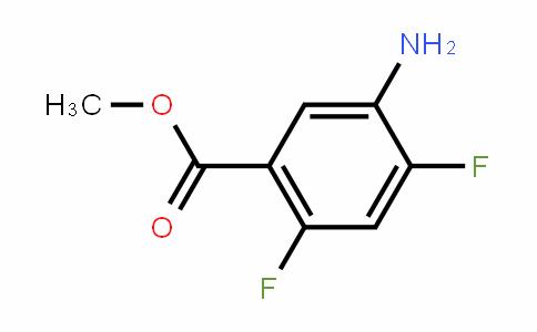 5-氨基-2,4-二氟苯甲酸甲酯