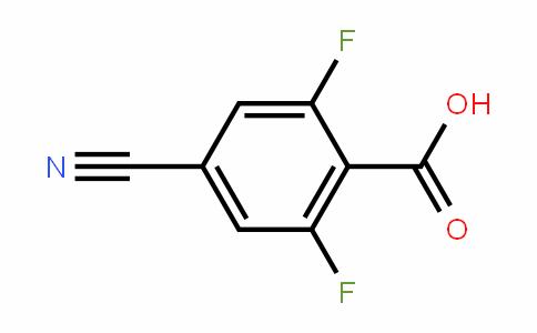 4-Cyano-2,6-difluorobenzoic acid