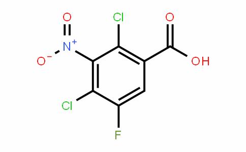 2,4-二氯-3-硝基-5-氟苯甲酸