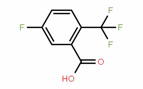 5-Fluoro-2-(trifluoromethyl)benzoic acid