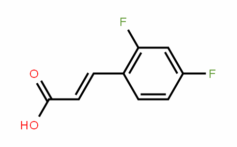 Trans-2,4-Difluorocinnamic acid