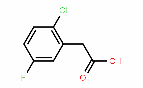 2-Chloro-5-fluorophenylacetic acid