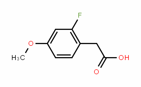 2-Fluoro-4-methoxyphenylacetic acid