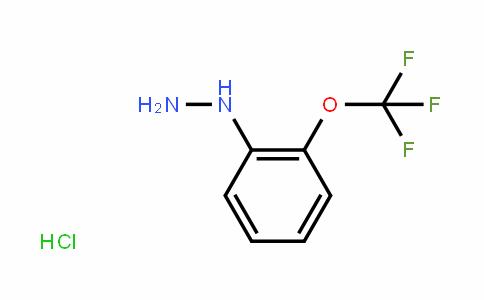2-(Trifluoromethoxy)phenylhydrazine hydrochloride