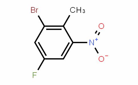 2-Bromo-4-fluoro-6-nitrotoluene