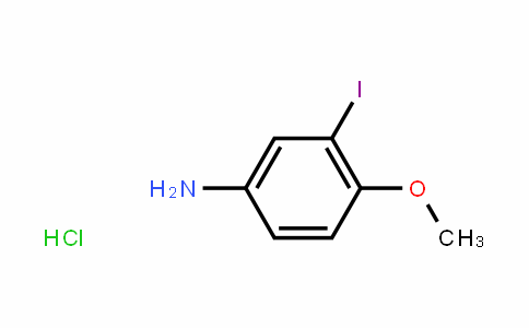 3-碘-4-甲氧基苯胺盐酸
