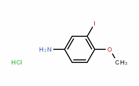 3-Iodo-4-methoxyaniline hydrochloride