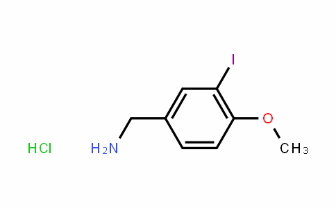 3-Iodo-4-methoxybenzylamine hydrochloride