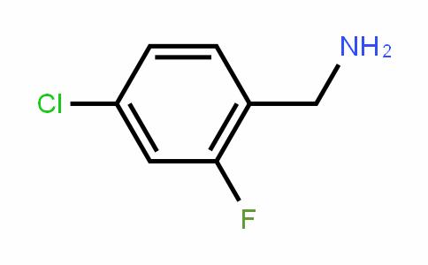 4-氯-2-氟苄胺