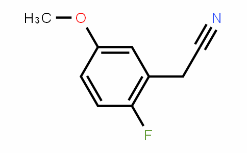 5-Methoxy-2-fluorobenzyl cyanide