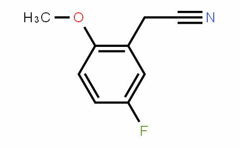 2-Methoxy-5-fluorobenzyl cyanide