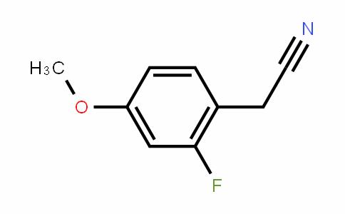 4-Methoxy-2-fluorobenzyl cyanide