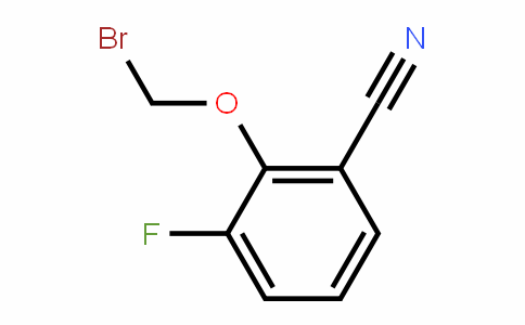 2-Bromomethoxy-3-fluorobenzonitrile