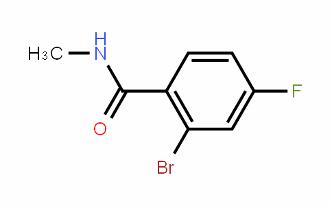 N-methyl-2-bromo-4-fluorobenzamide