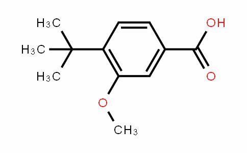 3-甲氧基-4-叔丁基苯甲酸