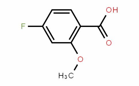 4-氟-2-甲氧基苯甲酸